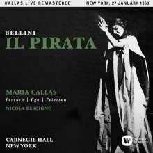 Vincenzo Bellini (1801-1835): Il Pirata (Remastered Live Recording New York 27.01.1959), 2 CDs