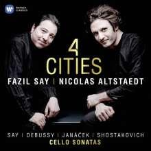Nicolas Altstaedt & Fazil Say - 4 Cities, CD