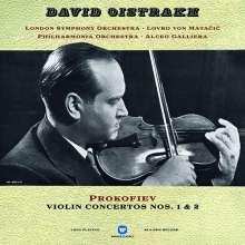 Serge Prokofieff (1891-1953): Violinkonzerte Nr.1 & 2 (180g), LP