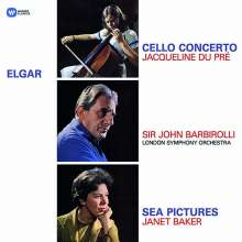 Edward Elgar (1857-1934): Cellokonzert op.85 (180g), LP