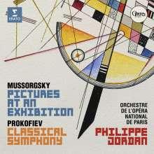 Modest Mussorgsky (1839-1881): Bilder einer Ausstellung (Orch.Fass.), CD