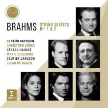 Johannes Brahms (1833-1897): Streichsextette Nr.1 & 2, CD