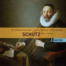 Heinrich Schütz (1585-1672): Schwanengesang SWV 482-493, 2 CDs
