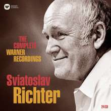Svjatoslav Richter - The Complete Warner Recordings, 24 CDs