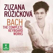 Johann Sebastian Bach (1685-1750): Sämtliche Cembalowerke (Zuzana Ruzickova), 20 CDs