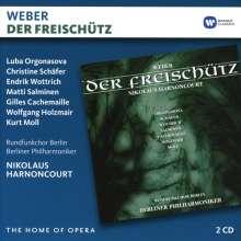 Carl Maria von Weber (1786-1826): Der Freischütz, 2 CDs