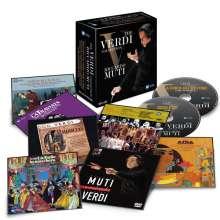 Giuseppe Verdi (1813-1901): Riccardo Muti - The Verdi Collection, 28 CDs und 1 DVD