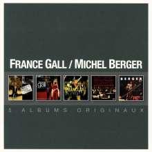 Michel Berger & France Gall: Original Album Series, 5 CDs