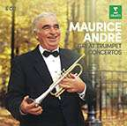 Maurice Andre - Great Trumpet Concertos, 6 CDs