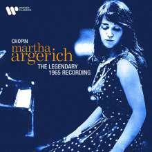 Martha Argerich - The Legendary Chopin Recording 1965 (Remasterte Wiederauflage 24bit/192kHz), CD