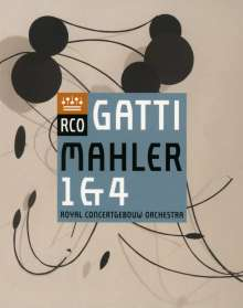 Gustav Mahler (1860-1911): Symphonien Nr.1 & 4, Blu-ray Disc