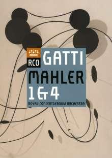 Gustav Mahler (1860-1911): Symphonien Nr.1 & 4, DVD