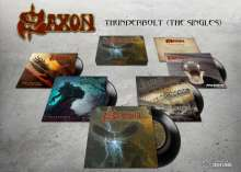 "Saxon: Thunderbolt (The Singles) (Box-Set), 5 Singles 7"""
