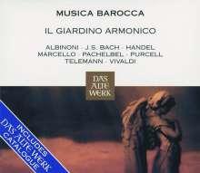 "Il Giardino Armonico - Musica Barocca (mit Katalog ""Das Alte Werk""), CD"