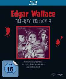 Edgar Wallace Edition 4 (Blu-ray), 3 Blu-ray Discs