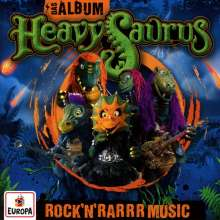 Heavysaurus: Das Album: Rock'n'Rarrr Music, CD