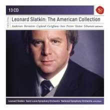 Leonard Slatkin - The American Collection, 13 CDs