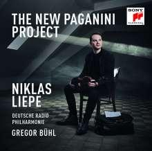 Niccolo Paganini (1782-1840): Capricen op.1 Nr.1-24 für Violine & Orchester, 2 CDs
