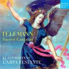 Georg Philipp Telemann (1681-1767): Kantaten, CD