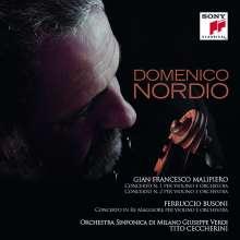 Gian Francesco Malipiero (1882-1974): Violinkonzerte Nr.1 & 2, CD