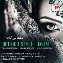 "Fazil Say (geb. 1970): Violinkonzert ""1001 Nights in the Harem"", CD"