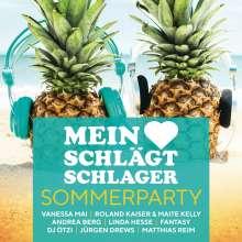 Mein Herz schlägt Schlager: Sommerparty, 2 CDs