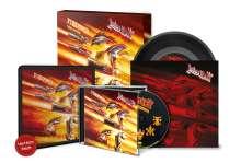 "Judas Priest: Firepower (Tour Edition), 1 CD und 1 Single 7"""