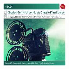 Charles Gerhardt conducts Classic Film Scores, 12 CDs