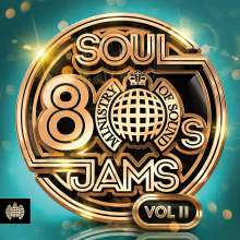 80s Soul Jams Vol. II, 3 CDs