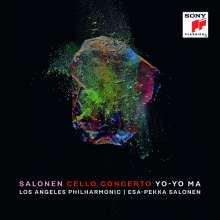 Esa-Pekka Salonen (geb. 1953): Cellokonzert, CD