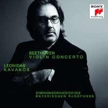 Ludwig van Beethoven (1770-1827): Violinkonzert op.61 (von Leonidas Kavakos exklusiv für jpc signiert), 2 CDs