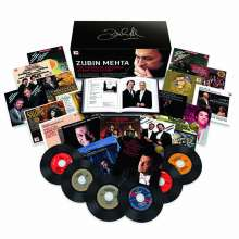 Zubin Mehta - The Complete Columbia Album Collection, 94 CDs und 3 DVDs