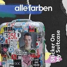 Alle Farben: Sticker On My Suitcase (180g) (Black/Blue Splattered Vinyl), 2 LPs