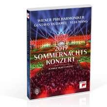 Wiener Philharmoniker - Sommernachtskonzert Schönbrunn 2019, DVD