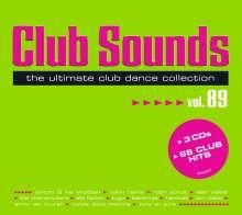 Club Sounds Vol. 89, 3 CDs