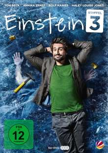 Einstein Staffel 3, 3 DVDs