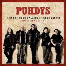 Puhdys: Rock & Balladen (Limited Edition), 5 LPs