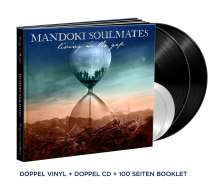 ManDoki Soulmates: Living In The Gap + Hungarian Pictures (Limited Premium Box), 2 LPs, 2 CDs und 1 Buch