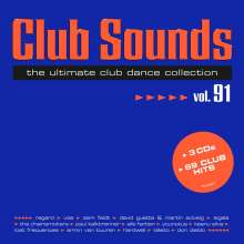 Club Sounds Vol. 91, 3 CDs