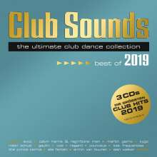 Club Sounds - Best Of 2019, 3 CDs