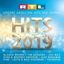 RTL Hits 2019, 2 CDs