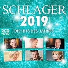 Schlager 2019, 2 CDs und 1 DVD