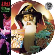 Jimi Hendrix: Merry Christmas Happy New Year EP (Picture Disc), Single 12""
