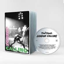 The Clash: London Calling (The Scrapbook), 1 CD und 1 Buch