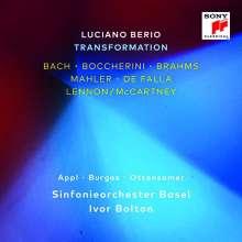 Luciano Berio (1925-2003): Transformation (Transkriptionen von Werken von Bach,Boccherini,Brahms,Mahler,Falla,Lennon/McCartney), 2 CDs