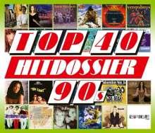 Top 40 Hitdossier 90s, 5 CDs