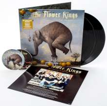 The Flower Kings: Waiting For Miracles, 2 LPs und 2 CDs