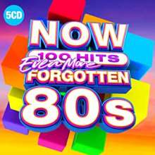 Now 100 Hits Even More Forgotten 80s, 5 CDs