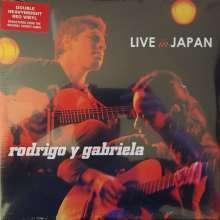 Rodrigo Y Gabriela: Live In Japan (remastered) (Red Vinyl), 2 LPs