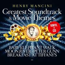Henry Mancini (1924-1994): Filmmusik: Greatest Soundtrack & Movie Themes, 1 LP und 1 CD